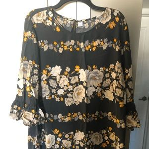 Women's Plus Size Old Navy Floral Dress